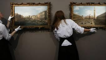 Sotheby's versteigerte zwei Venedig-Ansichten Canalettos