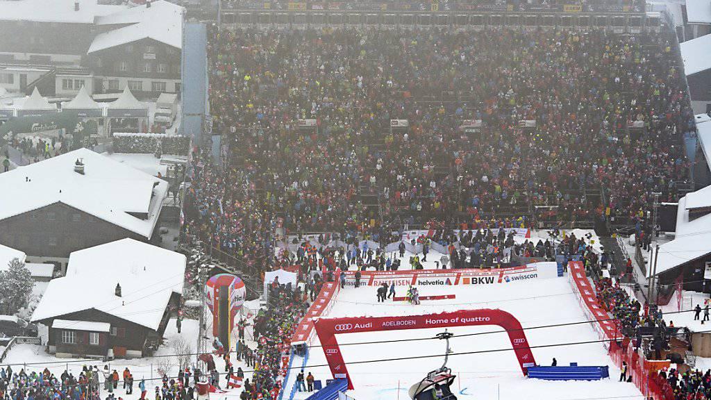 Der Skiweltcup in Adelboden kann stattfinden. (Archiv)