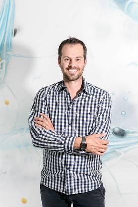 Erfreut über die Resultate der Studie: «Swiss Shrimps»-Geschäftsführer Rafael Waber.