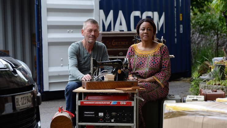 Hans Kleiber und Blandine Maleko unterstützen Frauen im Kongo...