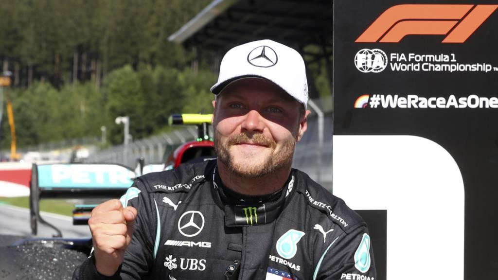 Mercedes verlängert Vertrag mit Bottas für 2021