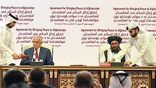 Historisches Abkommen zwischen USA und Taliban
