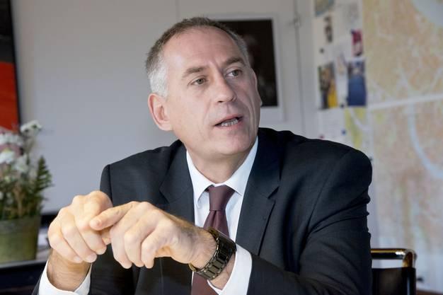 Der Basler Baudirektor Hans-Peter Wessels war 2015 noch gegen den Tunnel