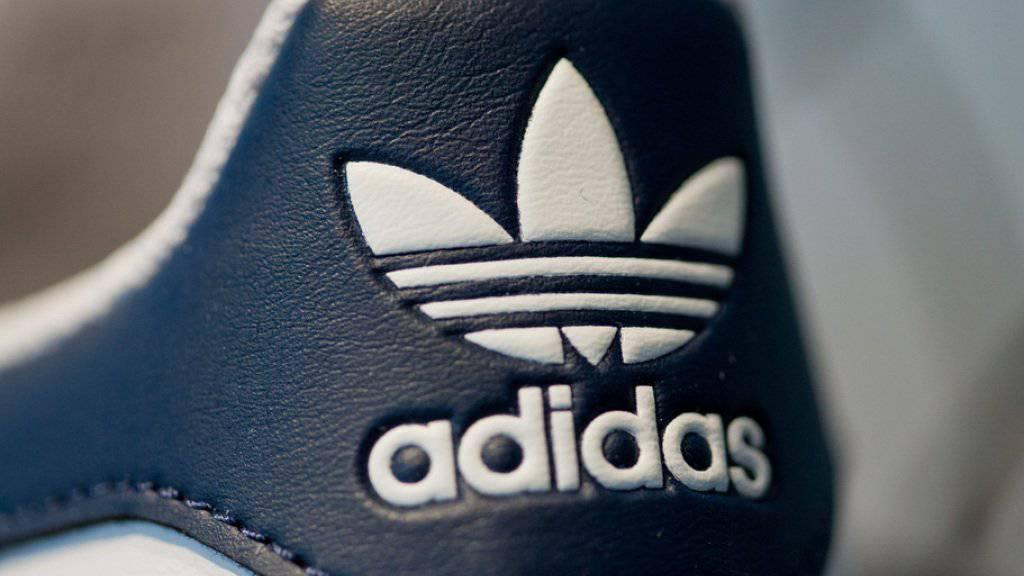 Adidas ist gut unterwegs: der Nike-Rivale erzielte im vergangenen Jahr einen Rekordgewinn.