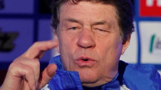 Griechenlands Coach Otto Rehhagel