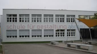 Die neue Schule für Gestaltung Aargau.