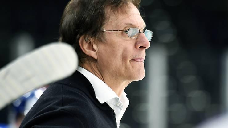 Trainer-Legende Arno Del Curto ist beim HC La Chaux-de-Fonds in der Swiss League zumindest als Impulsgeber wieder im Coaching-Bereich aktiv