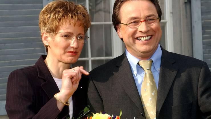 Im zweiten Anlauf schafft der ehemalige SP-Parteisekretär Urs Wüthrich die Wahl in den Baselbieter Regierungsrat, zusammen mit FDP-Neuling Sabine Pegoraro. Von Anfang an übernimmt er die Bildungsdirektion.