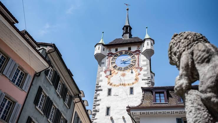 Schweiz. ganz natuerlich. Das Pop-up Hotel der Stadt Baden in der ehemaligen Gefaengniss Zelle im Stadtturm. In Zusammenarbeit mit Schweiz Tourismus und dem Trafo Hotel lanciert die Stadt Baden am 5. Juni ein Pop-Up Hotel im Stadtturm Baden.