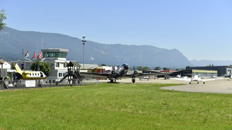 Auch der Flughafen Grenchen wurde von den Rentnerinnen und Rentnern ganz positiv bewertet.