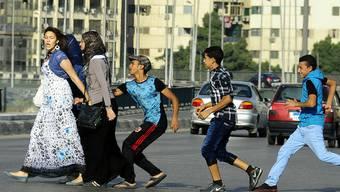 Jugendliche belästigen Frauen in Kairo (Archivbild)