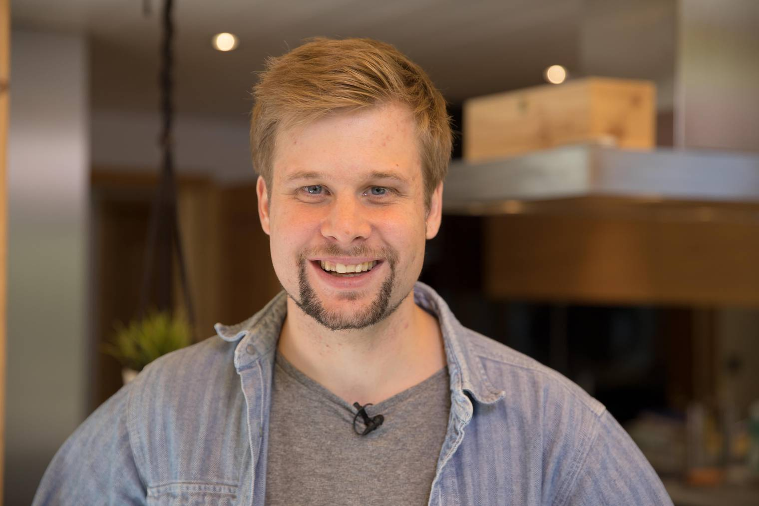 Danny ist 28 und arbeitet als Unternehmensentwickler in einer Produktionsfirma für Dämmstoffe.