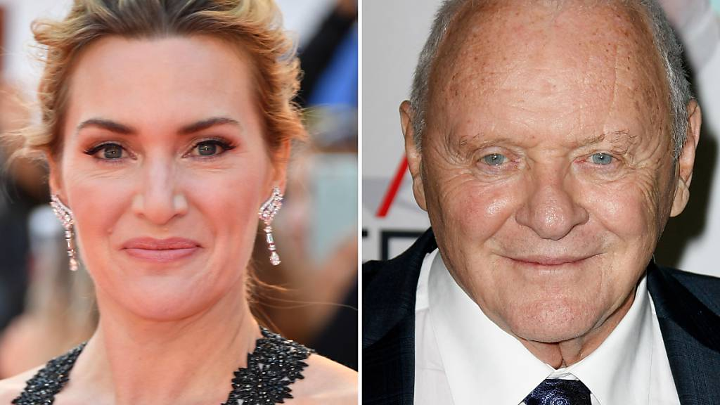 Filmfestival in Toronto: Kate Winslet und Anthony Hopkins geehrt