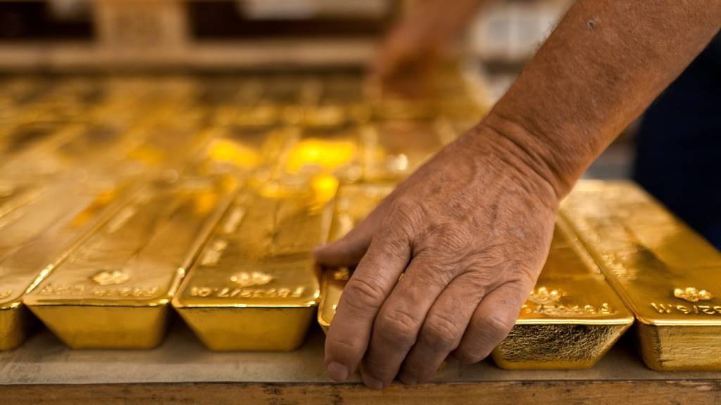 Sind die Voralpen-Express-Goldbarren aus Afrika?
