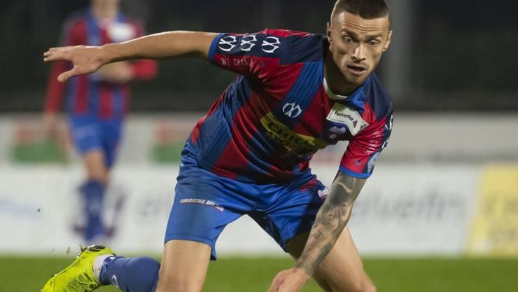 Nicolae Milinceanu sorgte mit dem 3:1 gegen Wil auch dafür, dass Chiasso das Tabellenende verliess