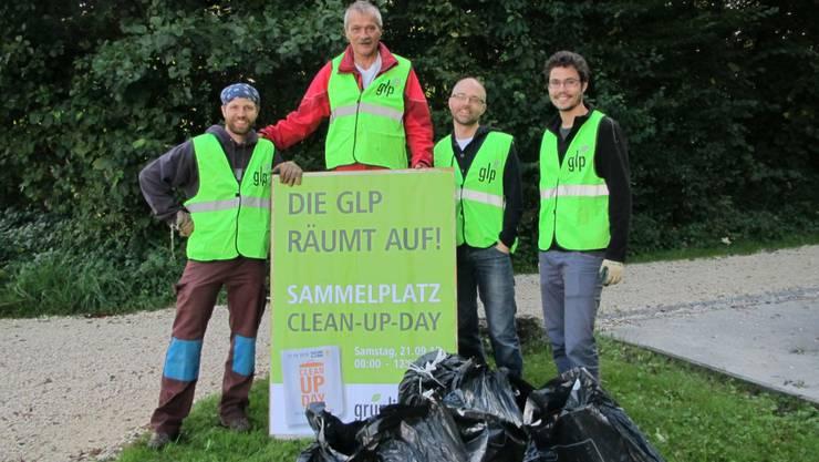 «Team West» mit (v. l.) Claudio Hug, René Kühne, Matthias Schenker, Markus Knellwolf. (mgt)