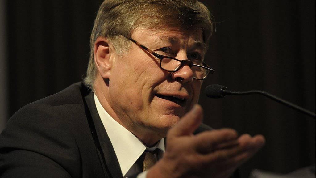 Der langjährige Calida-Chef Felix Sulzberger tritt im kommenden Jahr aufgrund von Meinungsverschiedenheiten mit dem Verwaltungsrat und dem Hauptaktionär zurück. (Archiv)