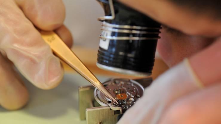 Insbesondere die Uhrenindustrie konnte 2013 ihre Exporte steigern.