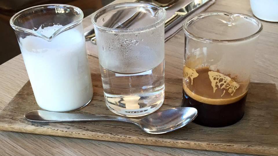So kommt der Kaffee in gewissen Hipster-Cafés in Melbourne daher.