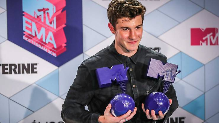 Bei den MTV Europe Music Awards in London ist der kanadische Popsänger Shawn Mendes am Sonntag als bester Künstler ausgezeichnet worden.