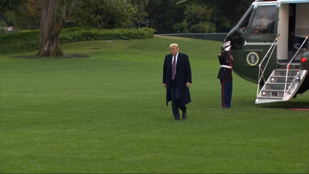 Donald und Melania Trump corona-positiv: So reagiert die USA 32-Tage vor der Wahl