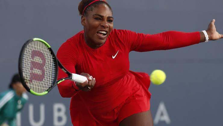 War am 31. Juli 2018 gegen Johanna Konta chancenlos: Serena Williams