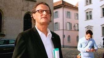 Der Badener Jurist Josef Bollag habe der Ex-Chatbekannten von Geri Müller (Bild) Geld bezahlt.