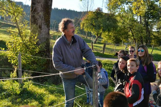 Bernhard Blaser gibt erste Instruktionen