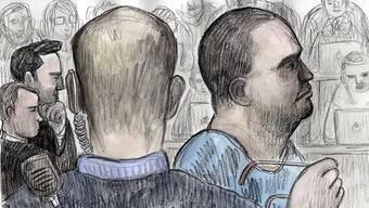 Der 42-jährige Angeklagte wurde am Dienstagmorgen weiter zum Tötungsdelikt befragt.