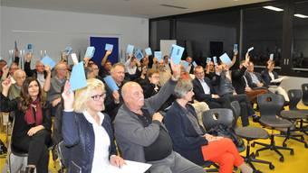 Breite Zustimmung für die neuen Statuten des Kaufmännischen Verbands Aargau Ost.