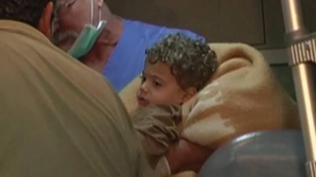 Dieses Kind konnte gerettet werden