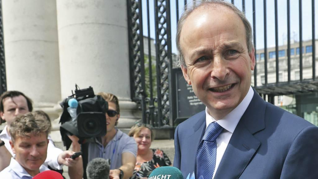 Parlament wählt Micheál Martin zum neuen Premierminister