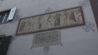 Der Basler Totentanz wurde um 1440 auf die Innenseite der Friedhofsmauer der Predigerkirche gemalt.