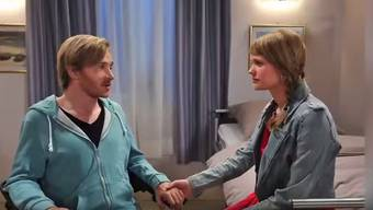 Samuel Koch und Sarah Elena Timpe haben sich am Set von «Sturm der Liebe» kennen gelernt.