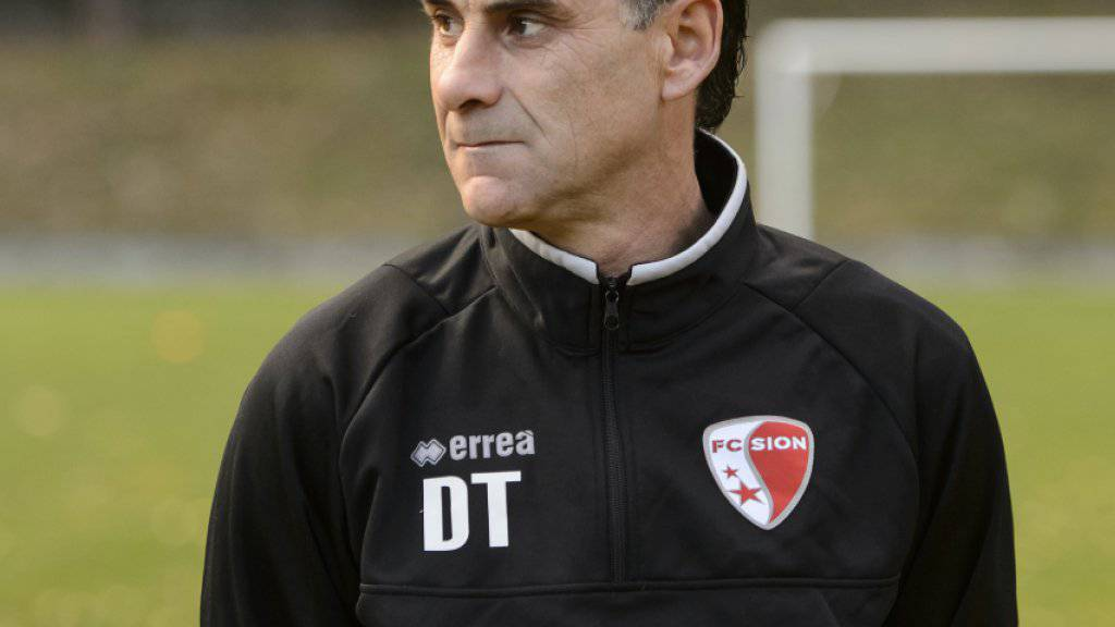 Trainer Didier Tholot blickt mit Sion bereits in Richtung Sechzehntel-Finals in der Europa League