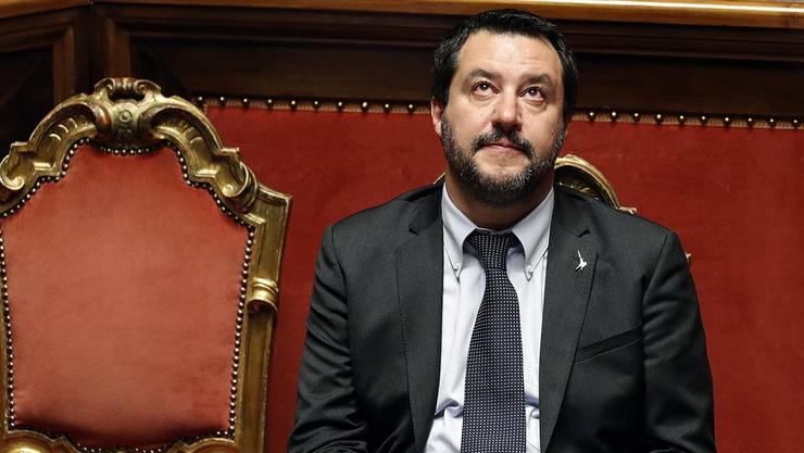 Matteo Salvini in Rom.