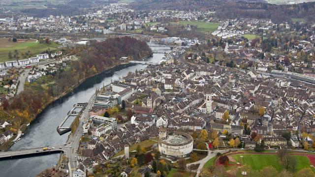Blick auf Schaffhausen (Archiv)