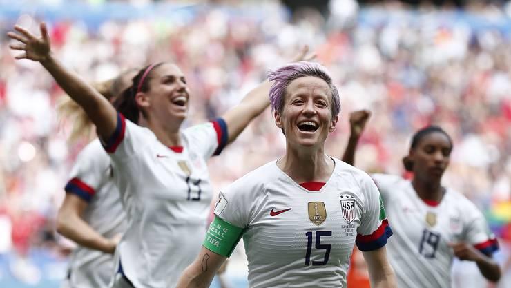 Die US-Frauen gewinnen zum vierten Mal die WM.