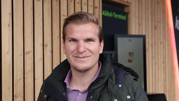 Tobias Jordi,  Projektleiter