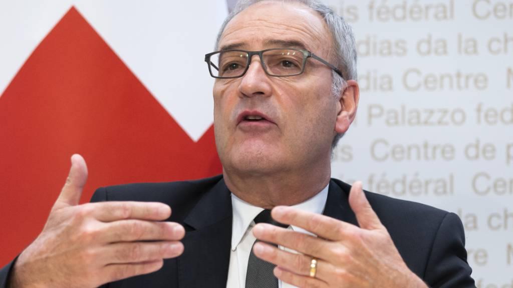 Guy Parmelin ruft zur Vorbereitung auf Strom-Mangellage auf