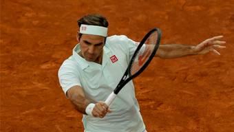 Roger Federer überzeugt bei seiner Rückkehr auf Sand.