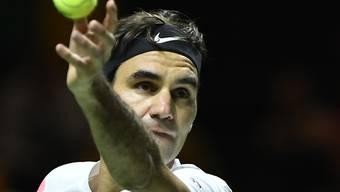 Am Wochenende wird Roger Federer in Kalifornien wieder aufschlagen