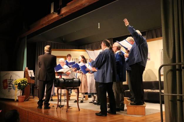 Impressionen vom Konzert des Heimetchors Limmigruess