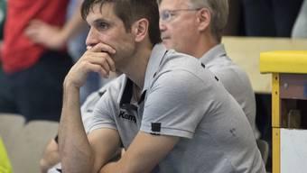 Nach dem Ausscheiden im Schweizer Cup nun auch das Out im Europacup: Pfadi Winterthurs Trainer Adrian Brüngger blickt auf eine enttäuschende Woche zurück