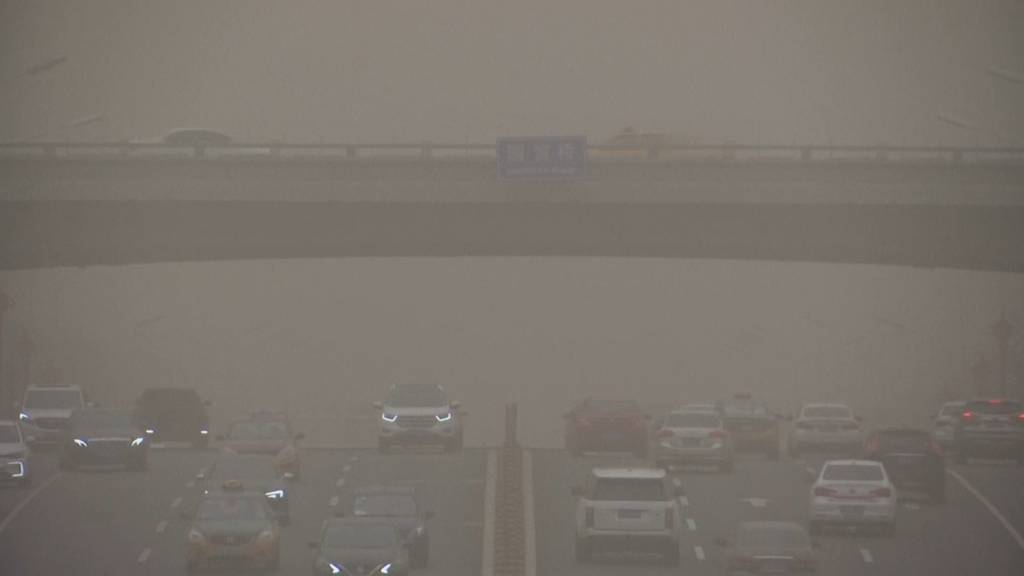 «Gelber Alarm» in Nordchina: Stärkster Sandsturm seit zehn Jahren