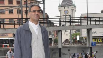 Pater Georges Aboud kam für ein Gespräch nach Baden. corinne rufli