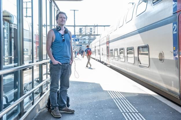 Lukas Maschek (32), Geowissenschafter, aus Basel.