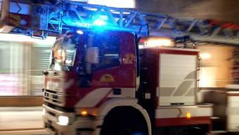 Der Mieter löschte den Brand, bevor die alarmierte Feuerwehr eintraf. (Symbolbild)