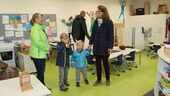 Tag der offenen Tür an der Schule Habsburg.