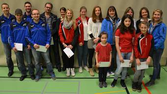 Keine/r zu klein, bei der Sportlerehrung des Solothurner Sportverbandes ein Meister oder eine Meisterin zu sein.